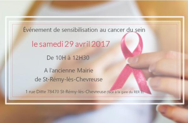 évènement sensibilisation cancer du sein