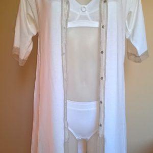 Chemise de nuit, nuisette, robe d'intérieur